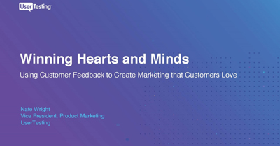 Winning Hearts and Minds: Using Customer Feedback to Create Marketing that Customers Love