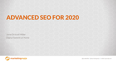 Advanced SEO Tactics for 2020