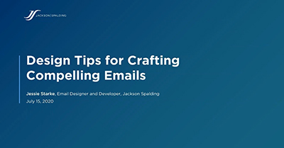 Design Tips for Crafting Compelling Emails