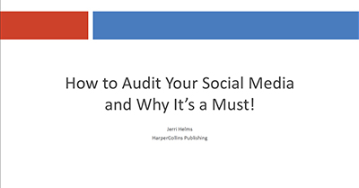 How To Audit Your Social Media and Why It's a Must