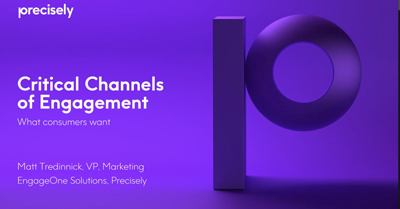 Critical Channels of Engagement: What Consumers Want