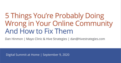 5 Things You're Probably Doing Wrong in Your Online Community and How to Fix Them