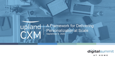 A Framework for Intelligent Personalization at Scale