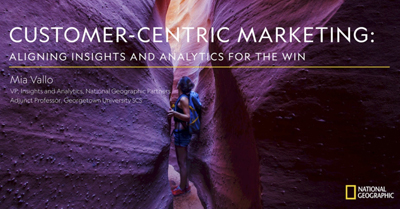 Customer-Centric Marketing: Aligning Insights and Analytics for the Win