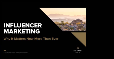 Influencer Marketing: Why It Matters Now More Than Ever