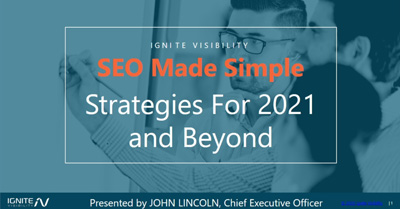 SEO Made Simple: Strategies for 2021 and Beyond