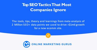 Top SEO Tactics That Most Companies Ignore