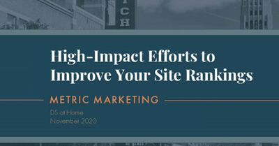 Overwhelmed by SEO? Focus on These High-Impact Efforts to Improve Your Site Rankings