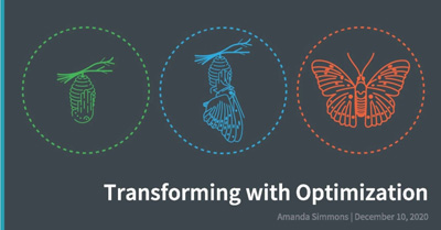 Transforming with Optimization