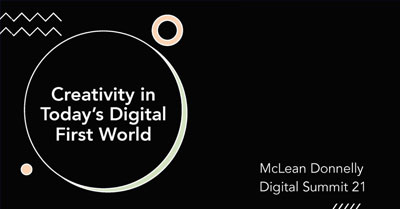 Creativity in Today's Digital-First Economy