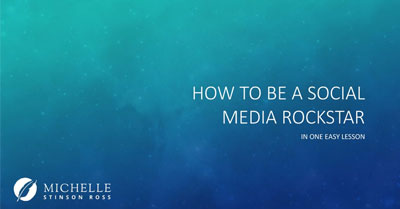 How to Be a Social Media Rock Star in One Easy Lesson