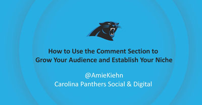 How to Use the Comment Section to Grow Your Audience and Establish Your Niche