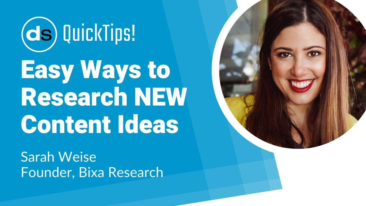 3 Free and Easy Ways to Research New Content Ideas for Your Customers