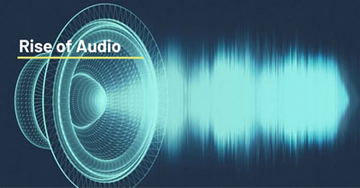 The Rise of Audio in Social and Content