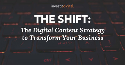 The Shift: The Digital Content Strategy To Transform Your Busine$$