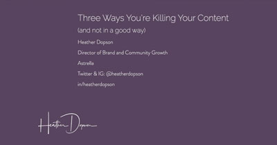 Three Mistakes Killing Your Content on Facebook (and How to Fix Them)