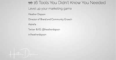 10 Tools You Didn't Even Know You Needed to Level Up Your Marketing Game