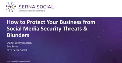 How to Protect Your Business from Social Media Security Threats and Blunders