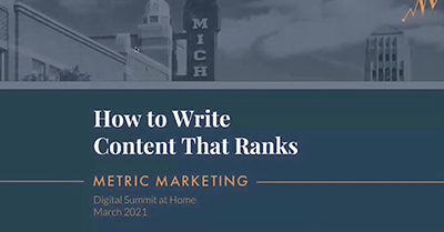How to Write Content That Ranks