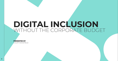 Digital Inclusion Without the Corporate Budget