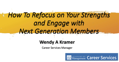 How To Refocus on Your Strengths and Engage with Next Generation Members