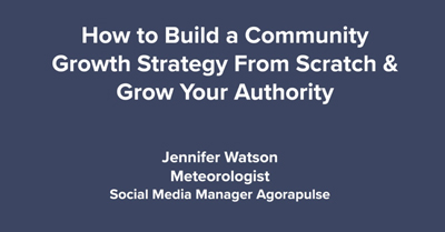 How to Build a Community Growth Strategy from Scratch