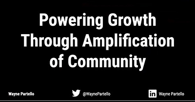 Powering Growth Through Amplification of Community