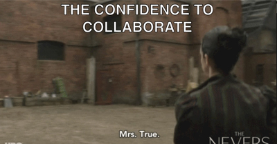 The Confidence to Collaborate