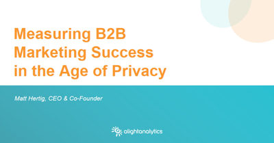 How to Measure Marketing Performance in the New Age of Privacy