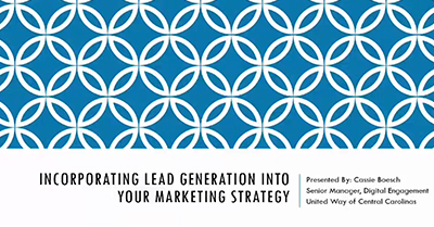 Incorporating Lead Generation into Your Marketing Strategy