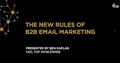 The New Rules of B2B Email Marketing