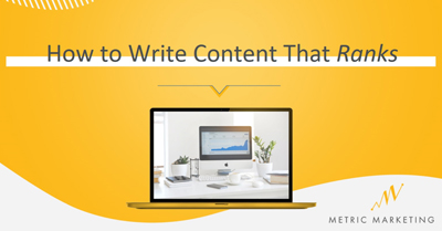 How to Write Content That Ranks by Hannah McNaughton