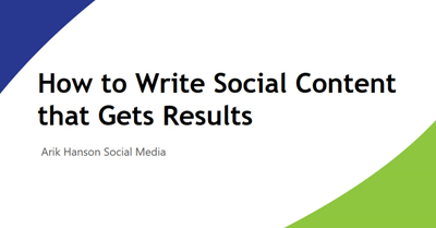 How to Write Social Media Content that Gets Results