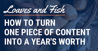 How to Turn One Piece of Content Into a Year's Worth