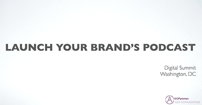 Launch Your Brand's Podcast