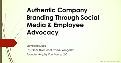Building an Authentic Company Brand Through Social Media and Employee Advocacy